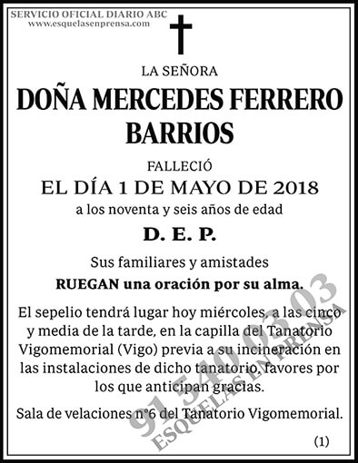 Mercedes Ferrero Barrios